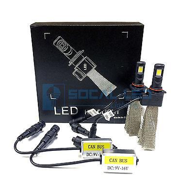 Fanless LED Headlight Kit 9006 HB4 6000K Xenon White Canbus Conversion Bulbs