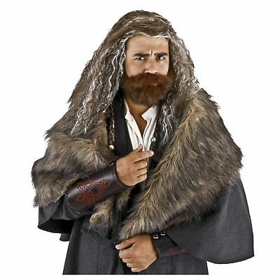 Adult Hobbit Lord of the Rings Thorin Oakenshield Cosplay Costume Wig Beard Set - Lord Of The Rings Beards