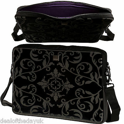"""ACME Designer 16"""" Laptop Sleeve For MacBook Pro 15 PC 15.6 15.4 With Strap Skin"""