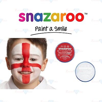 Snazaroo Football England World Cup Red & White Set Face & Body Paint Make Up](Football Halloween Makeup)