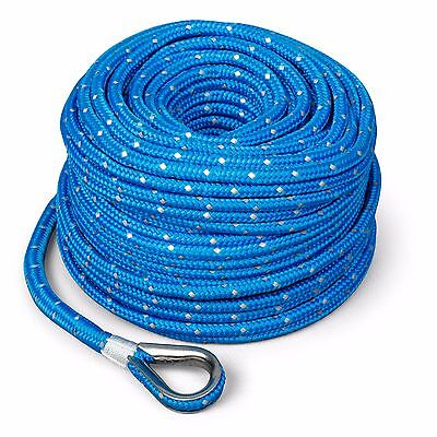Marine Boat Trac Premium Anchor Rope For All Electric Winches 100  X 3 16