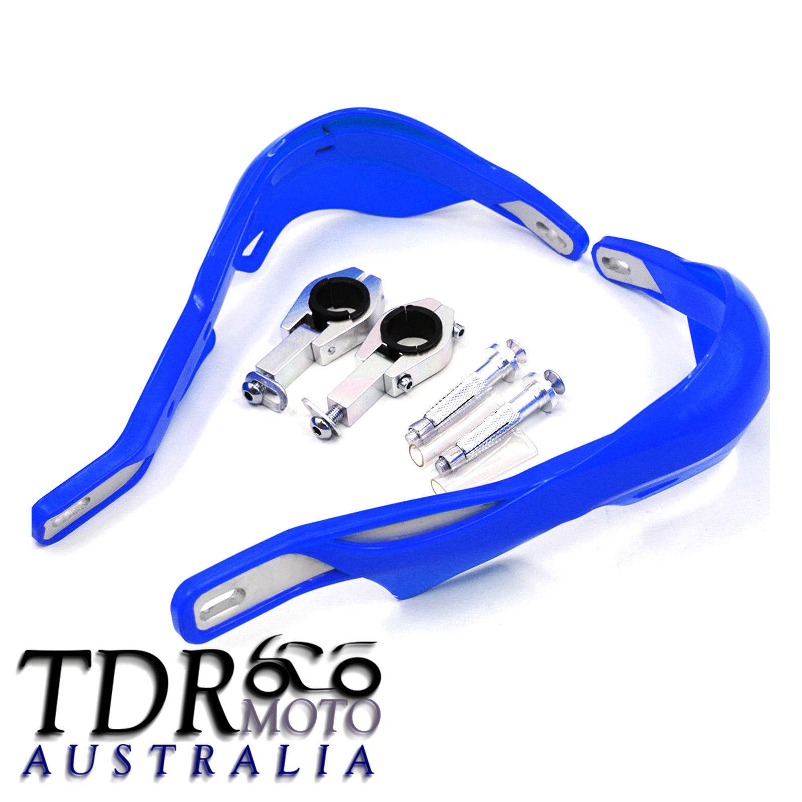 Generic Universal Plastic Handguards for 28mm and 22mm Handlebars Blue