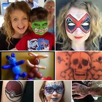 Face painting and other party services