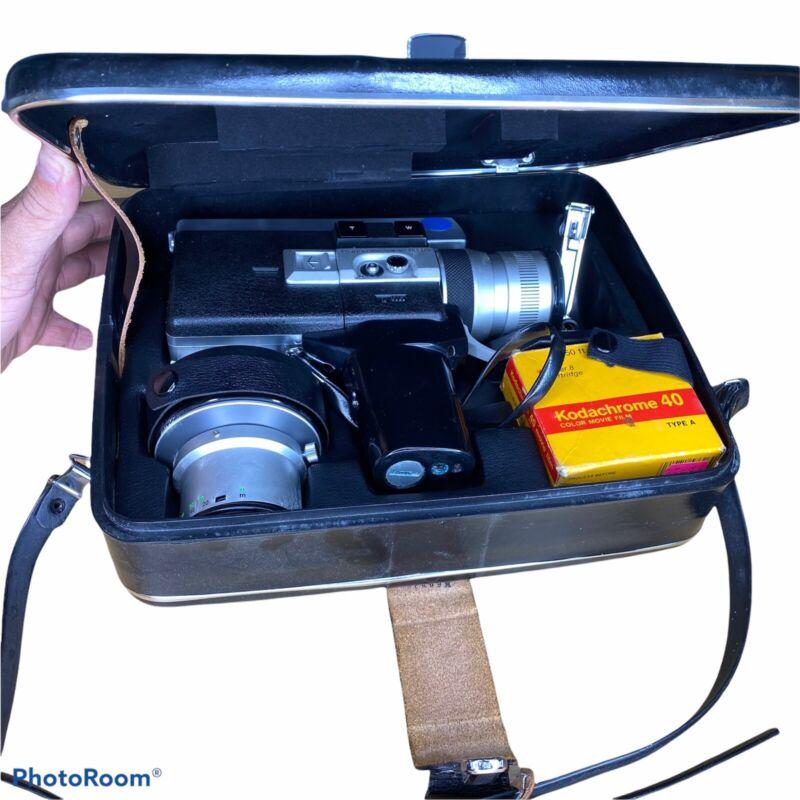 Vintage Canon Super Film Camera 518 Auto Zoom With Case 1960