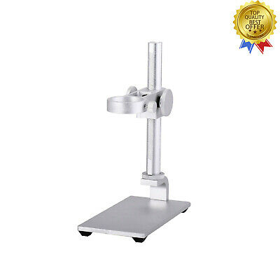 Mini Microscope Camera Aluminum Alloy Stand With Holder For 32-34mm Microscope
