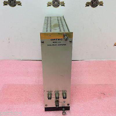 Ortec Egg Nim Computer Module Model 415 Sum-delay Amplifier Bin Module