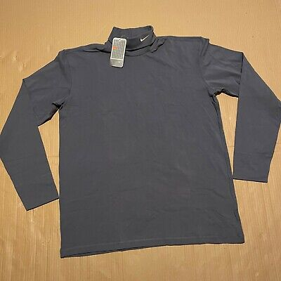 BNWT Deadstock Mens Nike Roll/Turtle Neck Long Sleeved Stretchy T-Shirt Size XXL