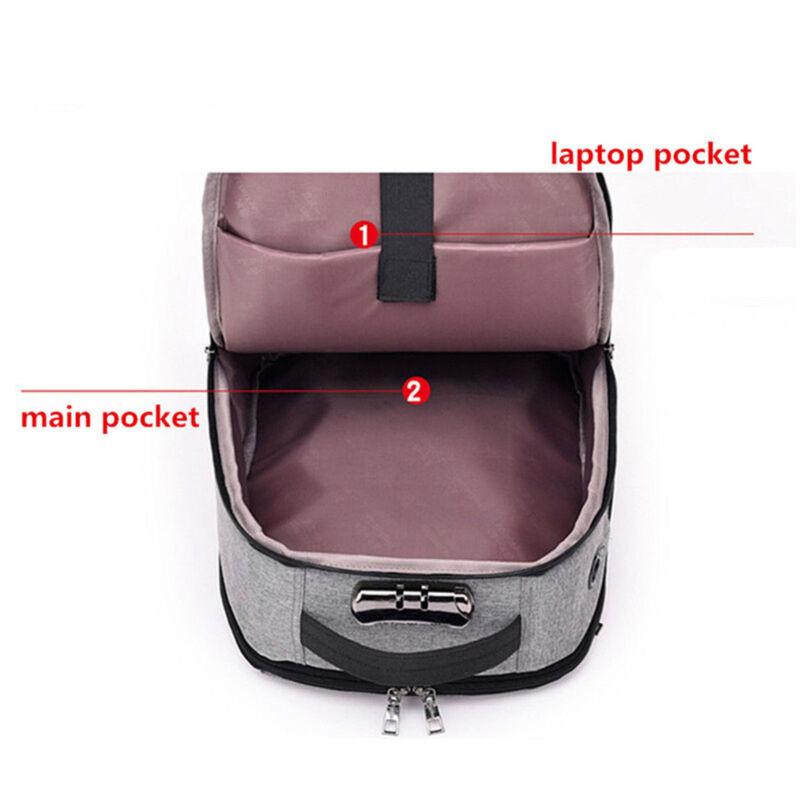 Anti Theft Charging Bag Laptop Notebook Business