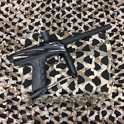 Used  Gog Enmey Paintball Gun Marker   Jet Black