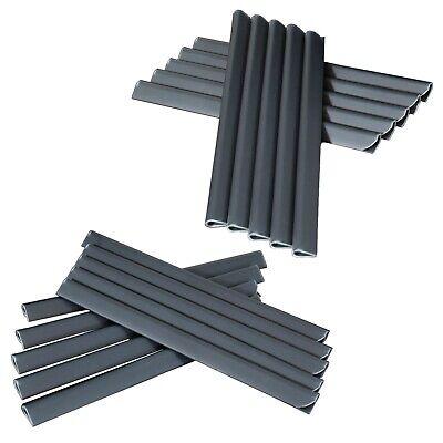 2,9m² PVC Sichtschutz Streifen Doppelstabmatten Zaun Folie Plane Windschutz