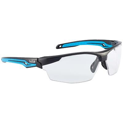 Bolle Tryon Safety Glasses With Clear Platinum Anti-fog Lens