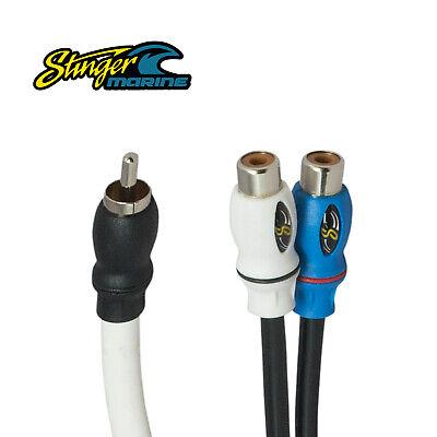Stinger Marine SMRCAYF RCA Female Y-Interconnect Audio Cable Grade