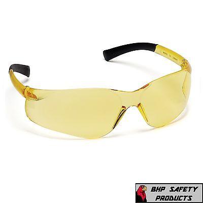 Pyramex Ztek Safety Glasses Amber Shooting Range Eyewear S2530s Z87 1 Pair