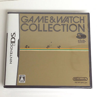 Nintendo DS Game & Watch Collection Club Nintendo Japan Exclusive