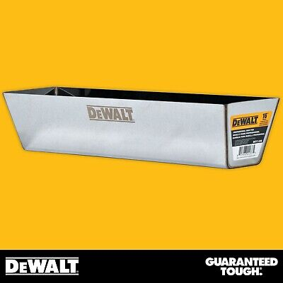 Dewalt Drywall Mud Pan 16 Mixing Compound Paint Heli-arc Weld Contoured Bottom