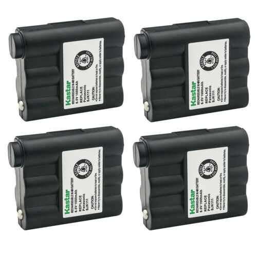 Kastar 4 Two-Way Radio Rechargeable Battery for Midland AVP-7 BATT5R BATT-5R