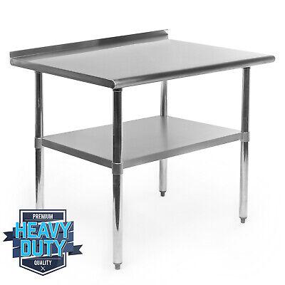 Open Box - Stainless Steel Kitchen Restaurant Work Prep Table - 24 X 36