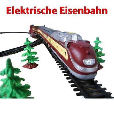 Elektrische Eisenbahn, Lokomotive, Zug-Modell, Lok mit über 10 Meter Strecke,Neu