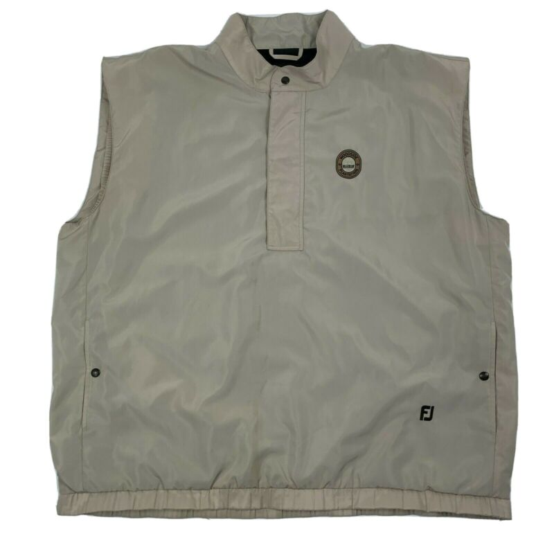 FootJoy Dryjoys Golf Pullover Sleeveless Vest with Pockets Men