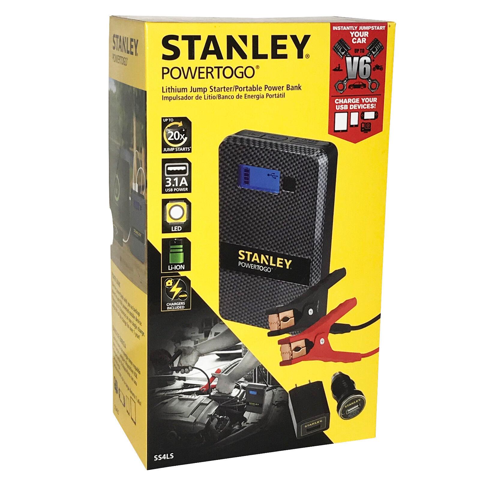 Stanley Power-to-go Lithium-ion Jump Starter V4-v6