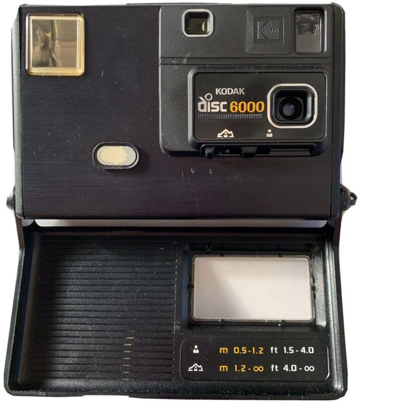Vintage Kodak Disc 6000 Camera 1980's Original Disc Photography