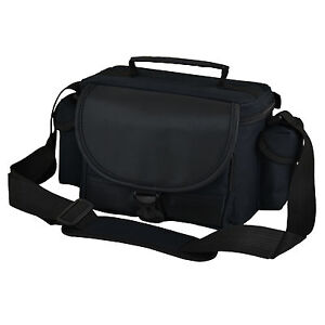 ALX Black DSLR Camera Case Shoulder Bag for Nikon D7000 D5100 D3200 D3100 D3000