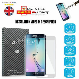 Clear-Full-Curved-3D-Tempered-Glass-Screen-Protector-For-Samsung-Galaxy-S7-Edge