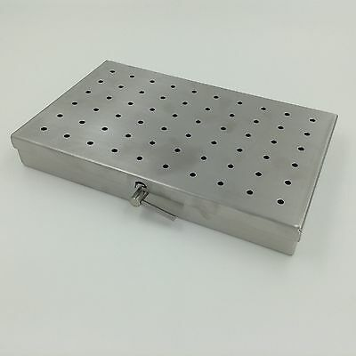 Stainless Steel Sterilization Tray Case Middle Size Surgical Instrument