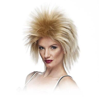 80's Heavy Metal GLAM Rock Poison Def Leppard WIG Long Rocker Costume Mix Blonde](80s Glam Rocker)