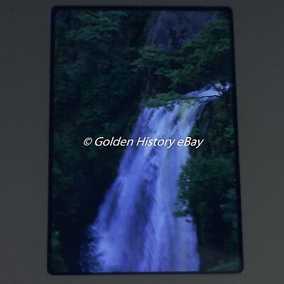 WATERFALL ON SNOWDON 1970 35mm SLIDE PHOTO PICTURE PHOTOGRAPH