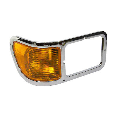 OEM NEW 2001-2015 Ford F650 F750 Passenger Chrome Turn Signal Parking Light Lamp