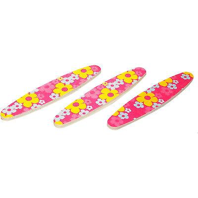 Innovate Mini Double Sided Compact Manicure Pedicure Nail Emery Boards x 3 (Mini Emery Boards)