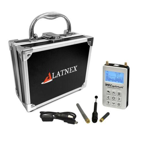 RF Explorer Spectrum Analyzer 4G Combo PLUS - Slim w/ Aluminum Case (50KHz-4GHz)