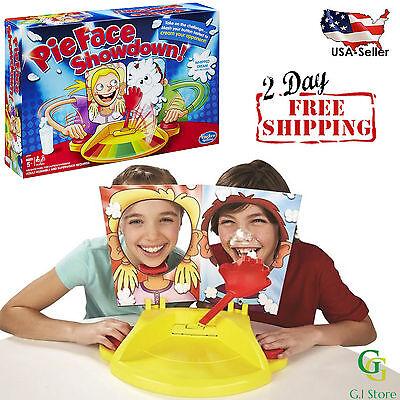 Pie Face Showdown Game Family Kids Child Fun Toy Party Toys Gift Hasbro Box New