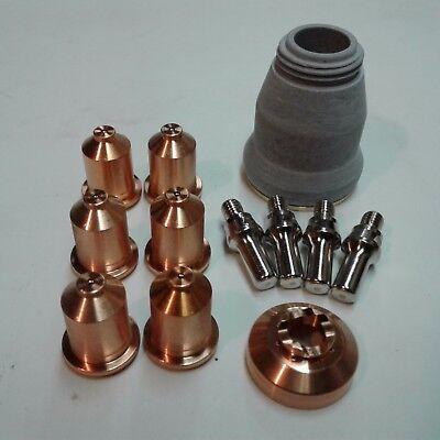 12pc Shielded Consumable Starter Kit Everlast 50s52i Plasma Cutter Ipt60 Torch