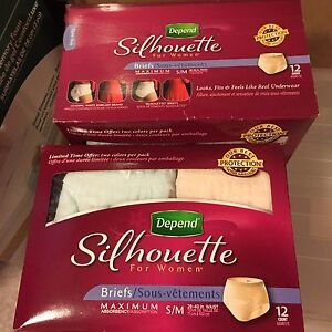 Depend  Silhouette briefs