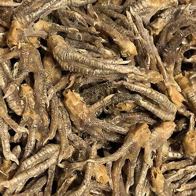 2Kg Dried Chicken Feet 100% Natural Hypoallergenic Healthy Dog Treats & Rewards