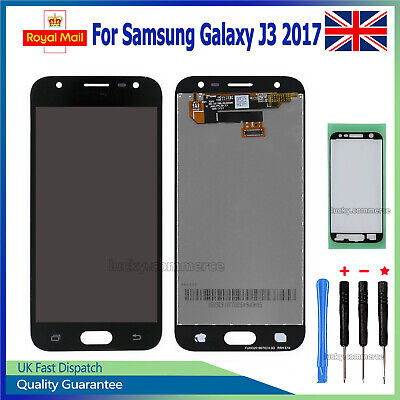 Black LCD Screen For Samsung Galaxy J3 2017 J330FN Display Digitizer Replacement