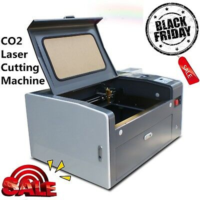 50w Laser Engraving Cutting Machine Engraver Usb 300x500mm With Rotary Hot Sale