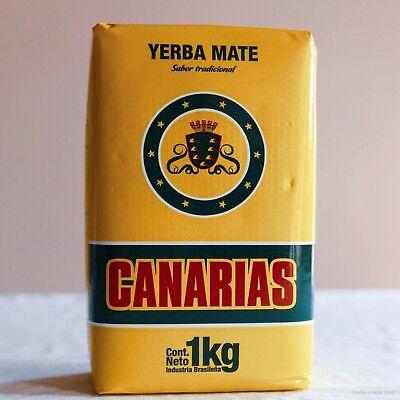 Canarias Yerba Mate - 1KG - 2.2 LBS - Free Shipping