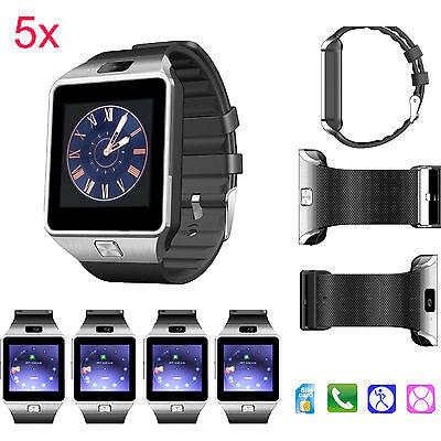 5X Fashion Bluetooth Smart Watch Wristwatch for Men Women Boys Samsung HTC LG