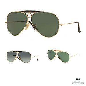 Rayo-Ban-RB3138-SHOOTER-gafas-de-sol-aviator-originales-hombre-mujer