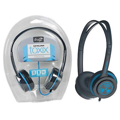 Genuine iFrogz High Bass Kids Children Wired Stereo Earphone Headphones Headset