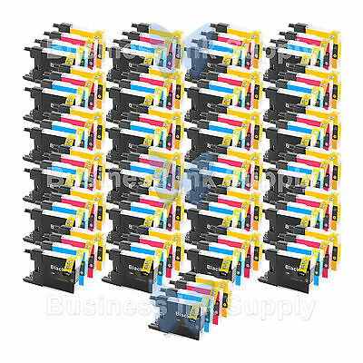 100 Pack Lc71 Lc75 Non-oem Ink For Brother Mfc-j430w Lc-7...