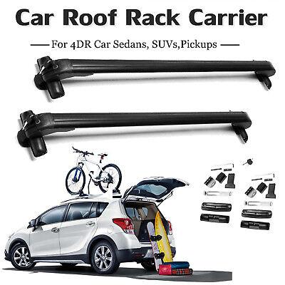 Car Roof Luggage Bike Rack Universal Cargo Kayak Carrier Bracket Top Cross Bar, used for sale  United Kingdom