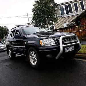 2001 Jeep Grand Cherokee Limited / Rebuilt V8, Sunroof, Leather Southbank Melbourne City Preview