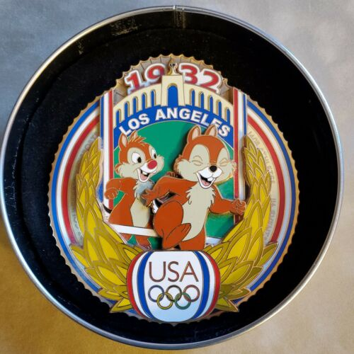 Disney Olympic Los Angeles 1932 Jumbo Chip Dale Summer Olympics LE 750 Pin