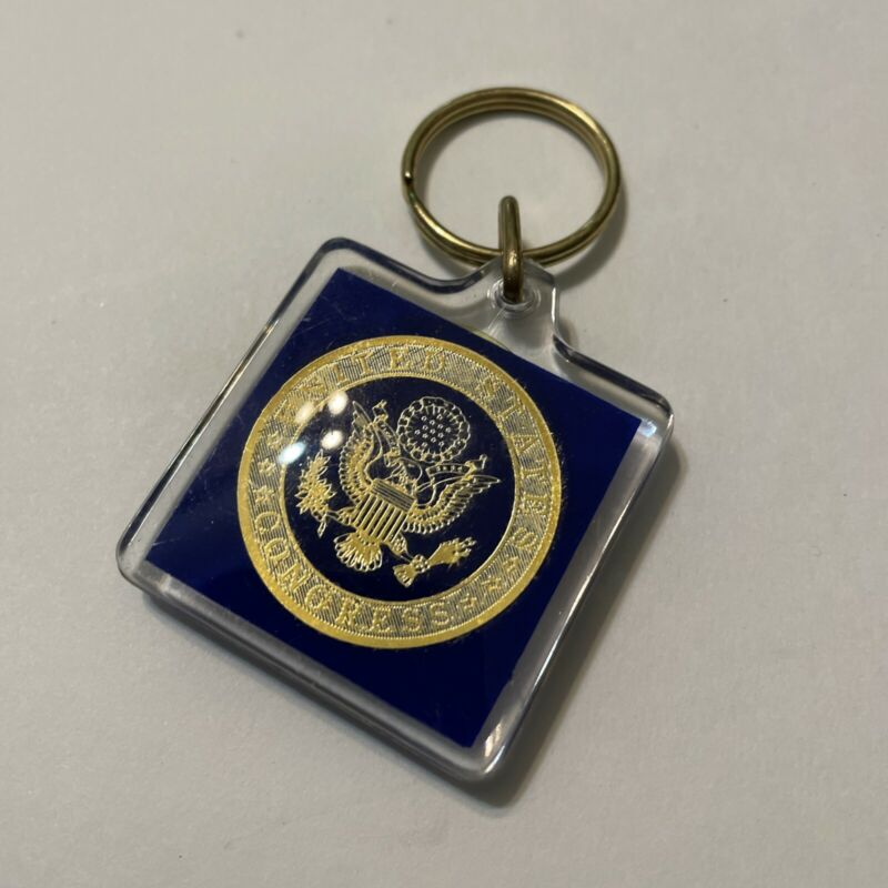 Vintage Key Chain Jack Brooks Texas 9th Congressional District
