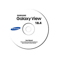 User Manual for Samsung Galaxy View Tablet 18.4-Model SM