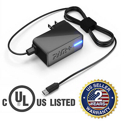 Pwr+ 6.5 Ft Cord LG G2 G3 G4; HTC One; Moto G X Maxx Phone Charger Power Adapter for sale  Shipping to India